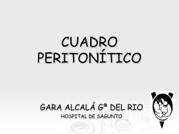 CUADRO PERITONÍTICO - Sociedad Valenciana de Cirugía