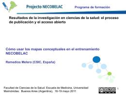 Reme Melero: Como usar los mapas conceptuales