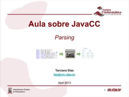 Aula JavaCC