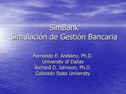 Descargar Presentacion de SimBank