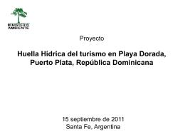 11. Huella Hidrica_Playa Dorada_RepublicaDominicana_E