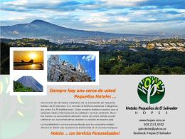 Federación Centroamericana de Pequeños Hoteles