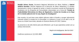 Presentación de PowerPoint - Dirección de Obras Hidráulicas, DOH