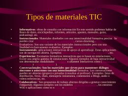 Curso: Estrategias metodológicas para introducir las TIC en el aula