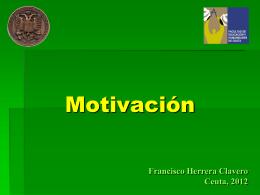 LA MOTIVACIÓN PARA APRENDER