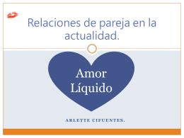 Elección de pareja en el amor líquido