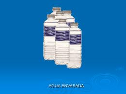 Aguas envasadas - El Agua Potable