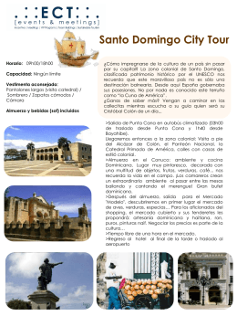 Santo Domingo City tour