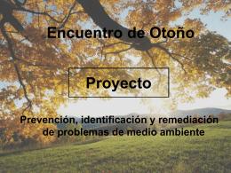 Proyecto Prevención, identificación y remediación de problemas de