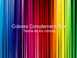 Colores complementários