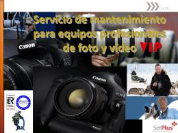 Servicio Técnico Oficial Canon