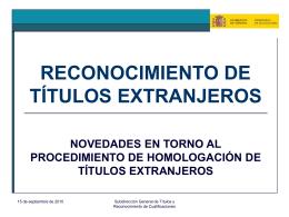 el marco español de cualificaciones para la educación superior