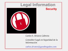 Consultoría Legal en