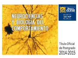Neurociencias y Biología del Comportamiento