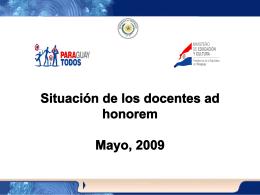 Presentación-Situación-AdHonorem-110509