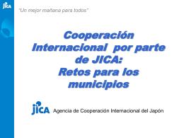 Retos para los municipios - Centro de Documentación del Programa