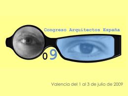 Presentación IV Congreso de Arquitectos