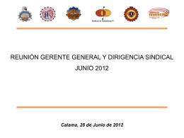 Diapositiva 1 - Sindicato de Trabajadores N°2