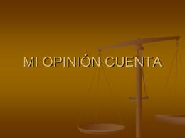 CLASE 3 Mi opinion Cuenta - Colegio Santa Teresita de Coelemu