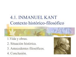 Inmanuel Kant - IES JORGE JUAN / San Fernando