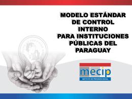 Modelo Estándar de Control Interno para las instituciones