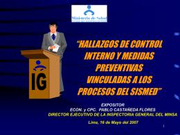 LEY ORGÁNICA DEL SISTEMA NACIONAL DE CONTROL