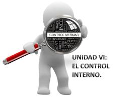 Control Interno - Prof. Fernando Monge