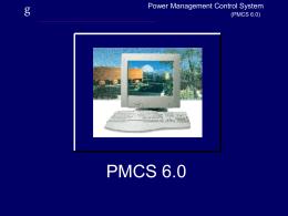 SCADA de control PMCS