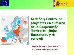 Apoyo a la gestión y control financiero de los proyectos europeos en