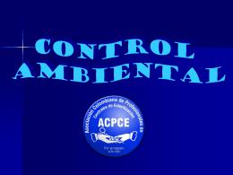8 CONTROL AMBIENTAL