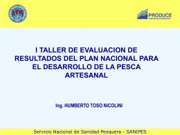 SERVICIO DE INSPECCION Y CONTROL SANITARIO DE LAS