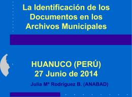 Digitalización en Archivos Municipales: El control del Servicio y sus