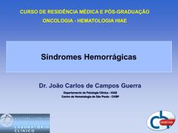 gicas  - CHSP - Centro de hematologia de São Paulo