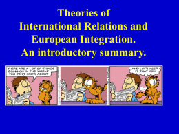 Integration Theory - Prof. Dr. Dr. hc Reinhard Meyers