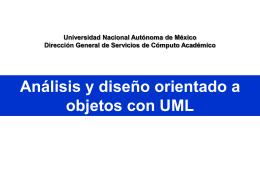 Análisis y diseño orientado a objetos con UML Vista Lógica