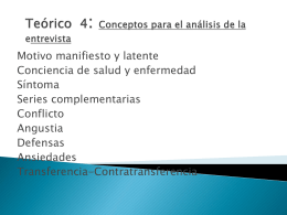 Series complementarias