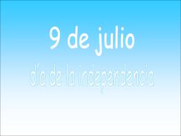 Feliz día de la independencia!