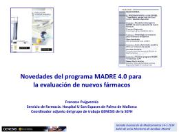 Novedades del programa MADRE 4.0 para la