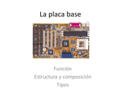 La placa base (97-03) - dpe