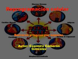 Celulas iPS - Casimiro Comeron Gonzalez