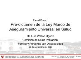 Por una legislación Peruana que apoya a la madre que