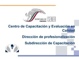 identificación de las capacidades técnicas específicas