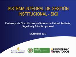 2013 - Superintendencia de Industria y Comercio