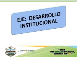 Info. Desarrollo Institucional