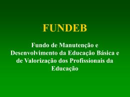 Apresentação FUNDEB