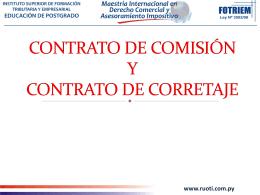 Eugenio G Contratos de Comision y Corretaje Dia 3