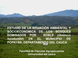 ESTUDIO DE LA SITUACIÓN AMBIENTAL Y