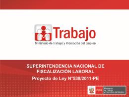 Superintendencia Nacional de Fizcalización