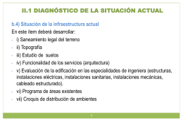 ii.1 diagnóstico de la situación actual