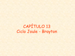 TERMO CAP13 Joule-Brayton
